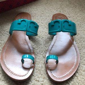 18eb81e3abd1ce Women s Tory Burch Toe Ring Sandal on Poshmark